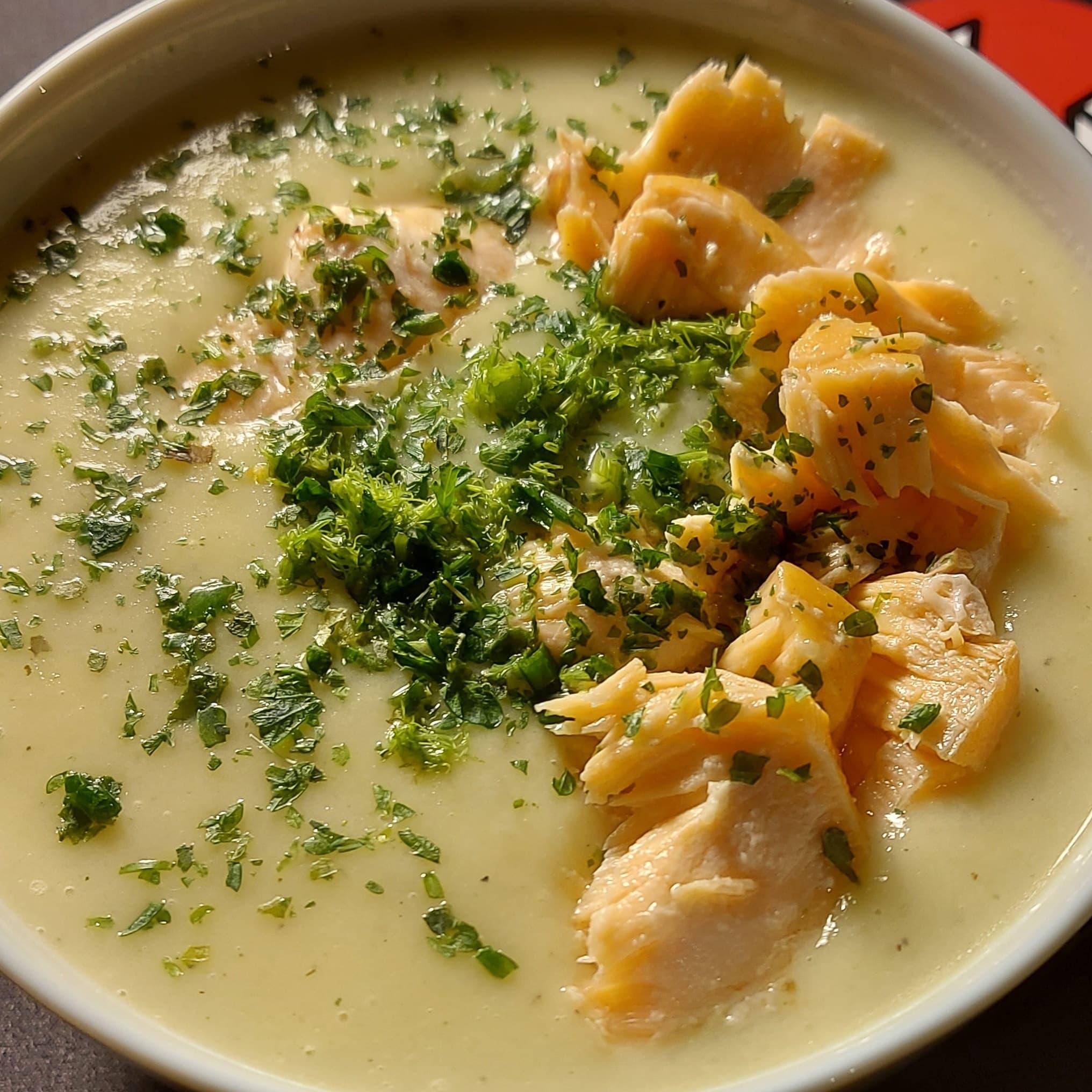 Suppenliebe – Kohlrabi Fenchel Cremesuppe