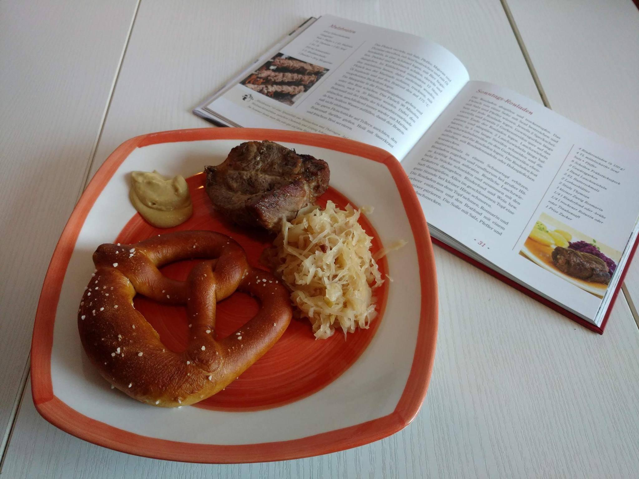 Eine neue Kochbuchleserin für meinen Blog