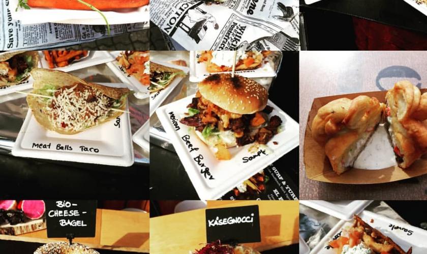 Kochbuchleser unterwegs-Street Food Festival Leipzig