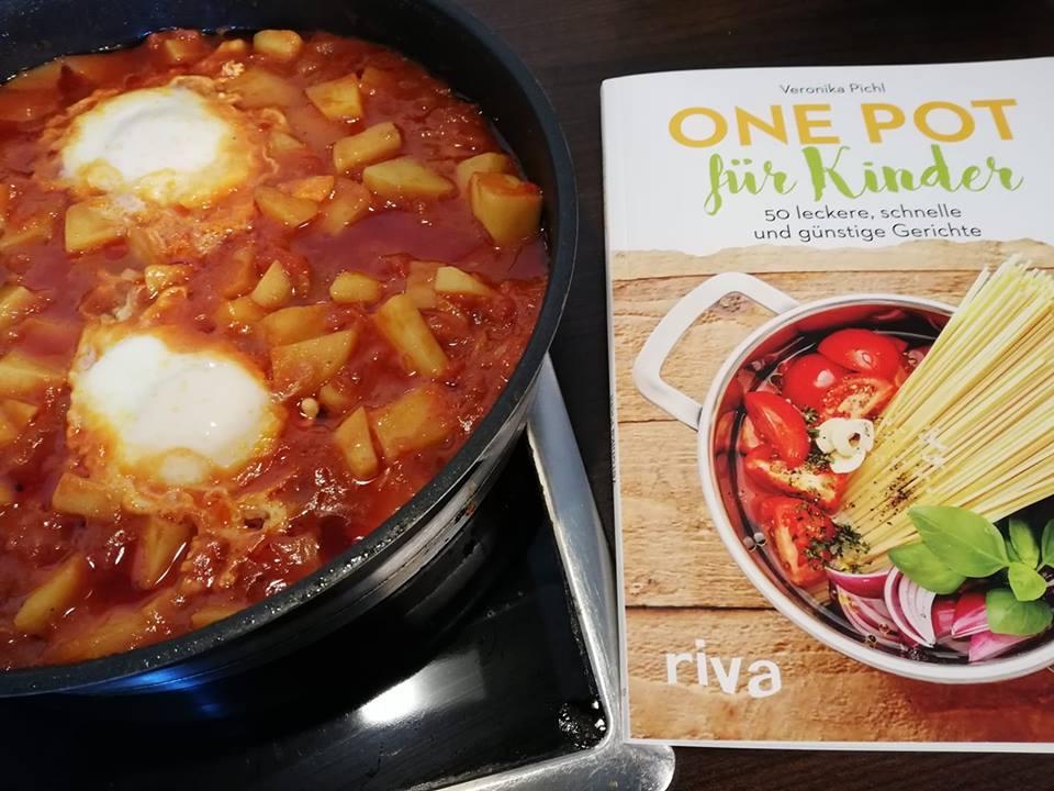Kartoffel Shakshuka aus dem Buch One Pot für Kinder