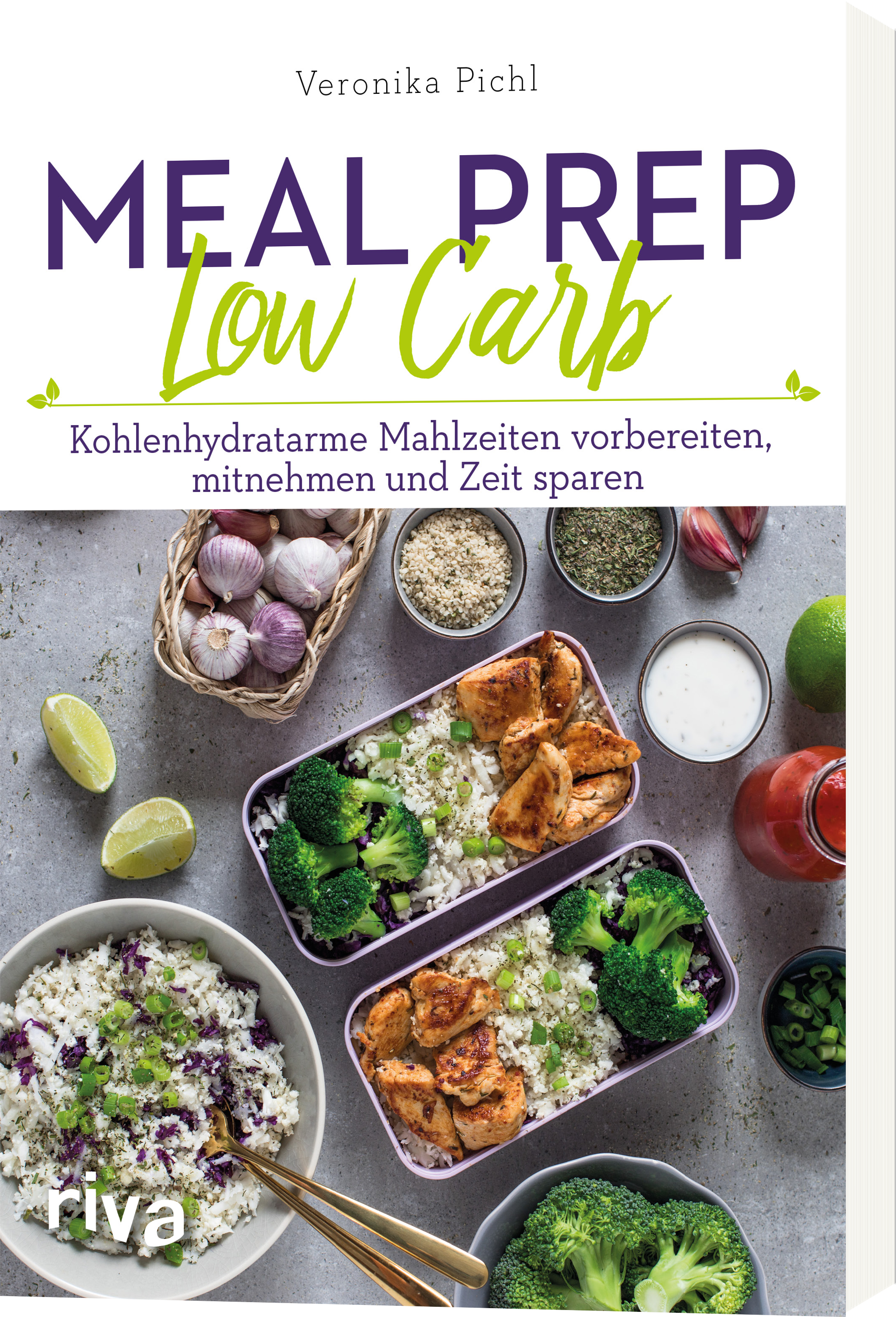 Buchvorstellung Meal Prep Low Carb